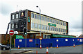 SO9198 : Demolition for the Fox Hotel, Wolverhampton by Roger  Kidd