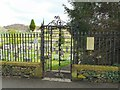SD3996 : Cemetery Entrance by Gerald England