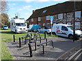TR3358 : Unusual cycle rack by Stephen Craven