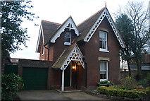 TR1457 : Lodge, Dane John Gardens by N Chadwick