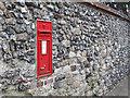 TR3358 : Victorian postbox, Knightrider Street. by Stephen Craven