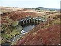 SE0810 : Penstocks on Muddy Brook, Meltham by Humphrey Bolton