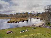 NN6207 : Callander, River Teith by David Dixon