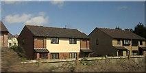 SU1131 : Houses at Quidhampton by Derek Harper