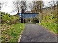 NN6307 : Cycletrack Under Bracklin Road by David Dixon