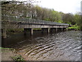 SD7314 : Footbridge on the Rotary Way by Philip Platt