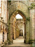 SE2768 : Fountains Abbey by bernard bradley