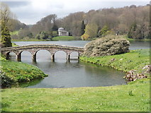 ST7733 : Romantic Landscape, Stourhead by Colin Smith
