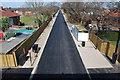 SU5803 : Fareham to Gosport BRT - View from Gregson Avenue Bridge (56) by Barry Shimmon