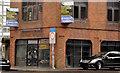 J3474 : Former stockbroker's office, Belfast by Albert Bridge