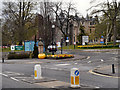 NS7992 : Stirling Council Offices Entrance by David Dixon