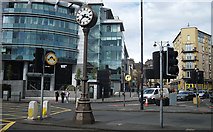 NT2472 : Tollcross clock by michael ely