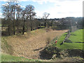 SP9908 : The Wide Inner and Wooded Outer Moats at Berkhamsted Castle by Chris Reynolds