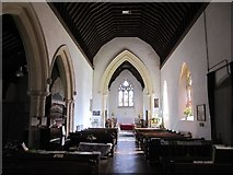 ST4636 : The Nave of the Holy Trinity Church by Bill Nicholls