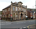 SS7788 : Grade II listed Taibach Library, Port Talbot by Jaggery