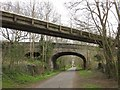 ST6275 : Bridges over the Bristol & Bath Railway Path by Derek Harper