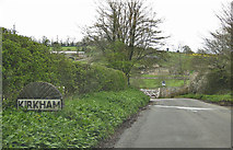 SE7365 : Entering Kirkham from the west by Pauline E