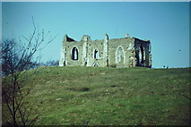 SU9948 : St Catherine's Chapel by Colin Smith