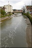 TF3244 : The River Witham, Boston by Dave Hitchborne