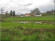 SE7365 : View across the River Derwent, Kirkham by Pauline E