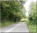 ST3797 : Bend ahead on the road to Usk by Jaggery