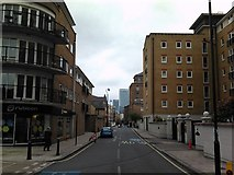 TQ3680 : View of the HSBC Building from Narrow Street by Robert Lamb