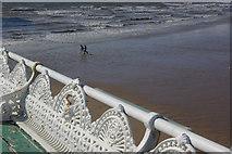 SD3036 : Blackpool Beach by Stephen McKay
