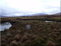 NN4060 : Confluence on Lub an Ime on Rannoch Moor by ian shiell