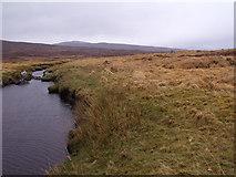 NN4060 : North bank of Allt an Ime on Rannoch Moor by ian shiell