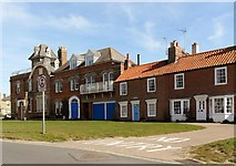 TM5075 : Row of houses, Southwold by nick macneill