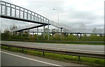 SK1831 : Foston Footbridge by Anthony Parkes