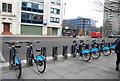 TQ3182 : Cycle hire by N Chadwick