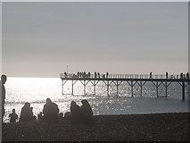 SZ9398 : Bognor Regis Pier by Ted Symonds