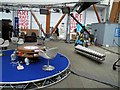 SK3587 : BBC sport temporary studio for the snooker championships Sheffield by Steve  Fareham