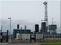 SK1515 : Alrewas Gas Compressor Station by Christine Johnstone