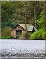 NX1061 : Boat House by Andy Farrington