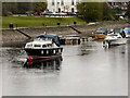 NS3982 : River Leven, Balloch by David Dixon