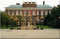 TQ2579 : Kensington Palace Gates 1999 by Roy Hughes