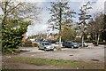 SU4867 : Carpark at Tesco by Bill Nicholls