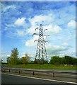 SJ7373 : Pylon by the M6 by Anthony Parkes
