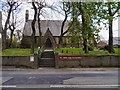 SD8017 : The Church of St John in the Wilderness, Shuttleworth. by David Dixon