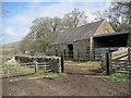 NY5754 : Farm Buildings, Binney Bank by Les Hull
