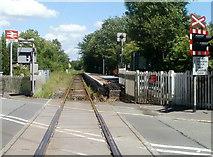 SN6221 : Ffairfach railway station by Jaggery