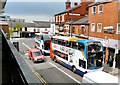 SJ9594 : Two Buses and a post van by Gerald England