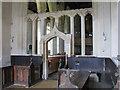 TL3852 : Harlton: chancel and screen by John Sutton