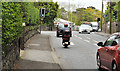 J3784 : Traffic lights, Greenisland (1) by Albert Bridge