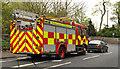 J3784 : Fire appliance, Greenisland by Albert Bridge