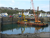 NW9954 : Harbour at Portpatrick by Andy Farrington