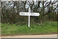 SX4198 : Quoditch Moor signpost by roger geach