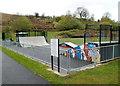 ST1190 : Senghenydd Park Skate Area by Jaggery